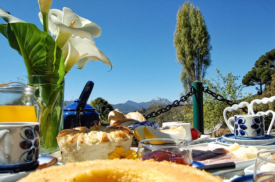 Typical Minas Gerais breakfast