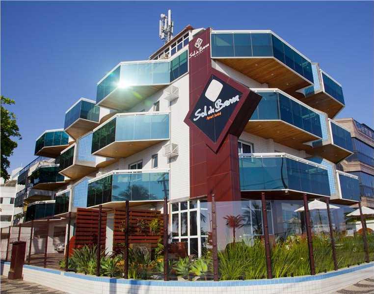Fachada Hotel Sol da Barra