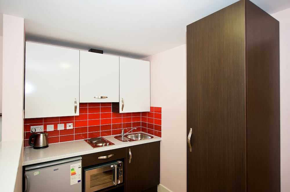 Kitchenette no Quarto