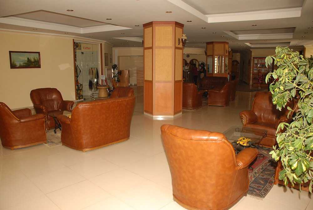 Zona de estar en el vestíbulo