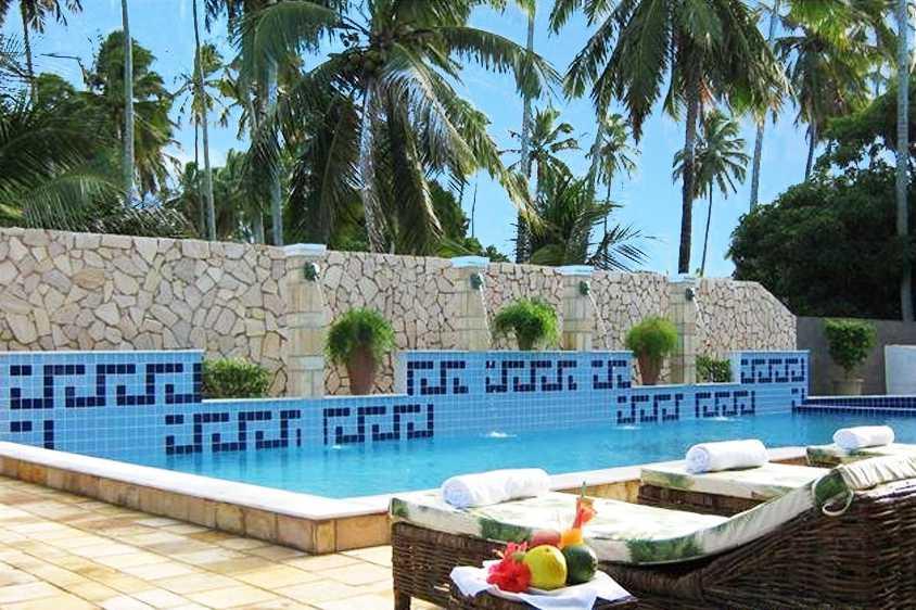 Hotel localizado na praia de Peroba no município de Maragogi.