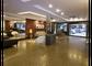 Área de televisão no Lobby do Hotel